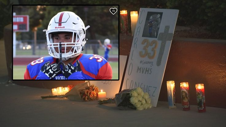 The Medical Examiner's Office has determined that accidental blunt force trauma to the head killed Moon Valley High School football player Carlos Sanchez during game.
