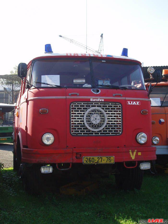 Řada RT: Hasičské vozy