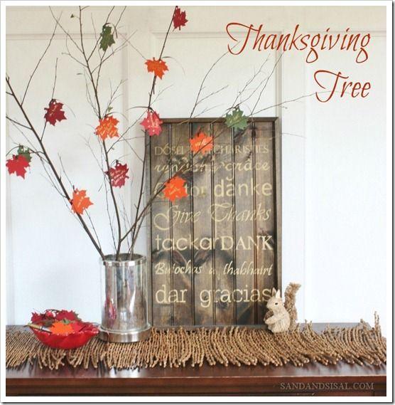 Best 25+ Thanksgiving Tree Ideas On Pinterest
