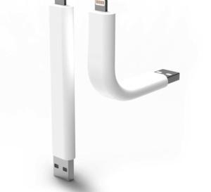 Un câble Lightning flexible et... irrésistible