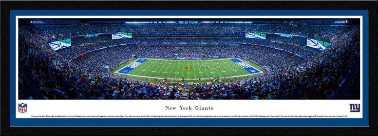 New York Giants Panoramic Picture - MetLife Stadium Panorama