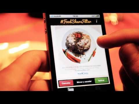 Manos Unidas - #FoodShareFilter app