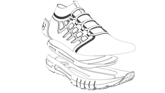 Coloring Pages Under Armour Shoes To Printable Coloring Under