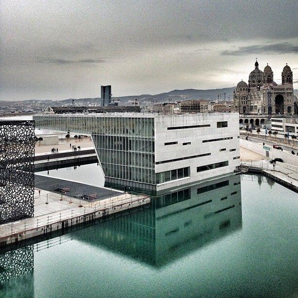 Mucem, Villa Méditerranée, Major, Marseille  #MP2013 by @Siropderue de Rue