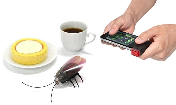 iPhone/iPadで操作できるゴキブリ的な何か「ゴキラジ!! for iPad/iPhone USB 赤外線 RC」 - GIGAZINE