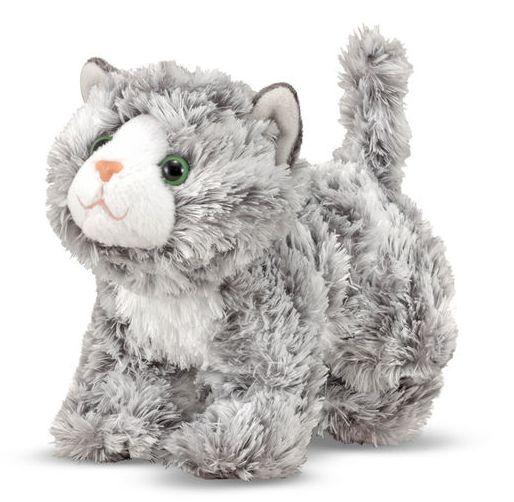 Melissa & Doug Roxie Grey Tabby Kitten Stuffed Animal