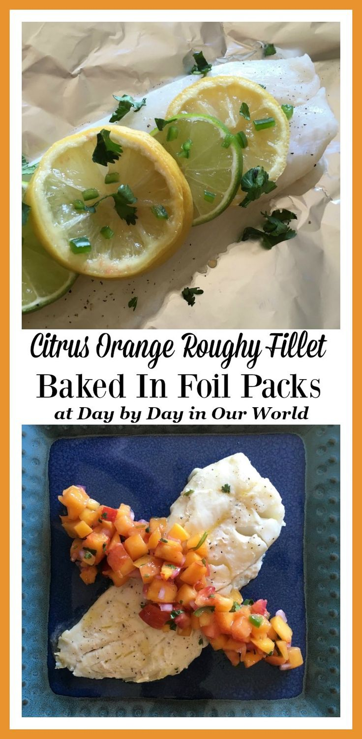 Looking for a different way to cook fish with minimal clean-up needed? See how foil packet cooking works with this Citrus infused Orange Roughy Fillet recipe. via @LauraOinAK