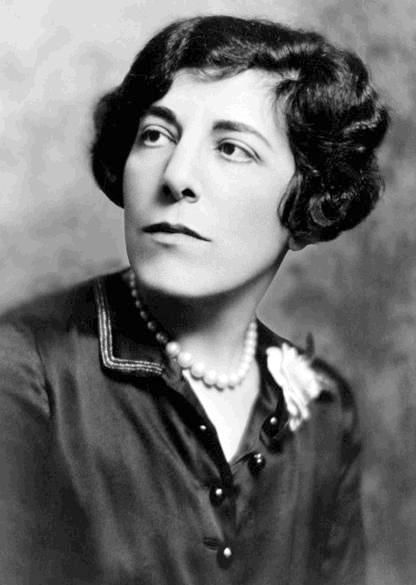 """Edna Ferber - American Writer. Her first best-selling novel """"So Big"""" (1924) won a Pulitzer Prize and was filmed in 1933. """"Show Boat"""" (1926) was turned into a stage musical by Jerome Kern and Oscar Hammerstein II, first produced on stage in 1927 and filmed in 1936 and 1951. Cremated, Location of ashes is unknown."""