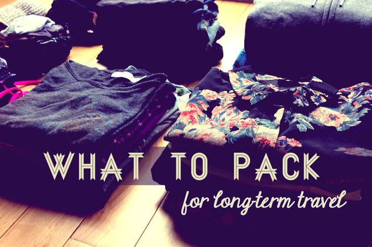 What to Pack for Long-Term Travel to Ecuador, South America and Beyond