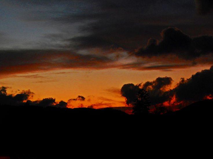 Sunset. #sunset #night #sky #nature #photo