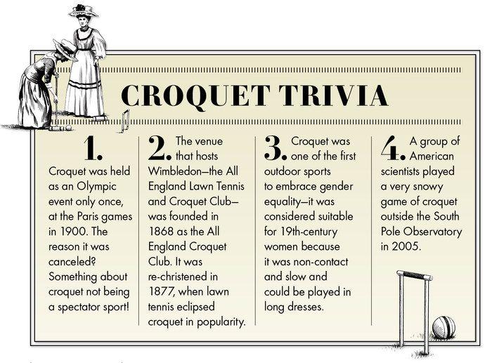 Pippa Middleton's Croquet Guide   Vanity Fair