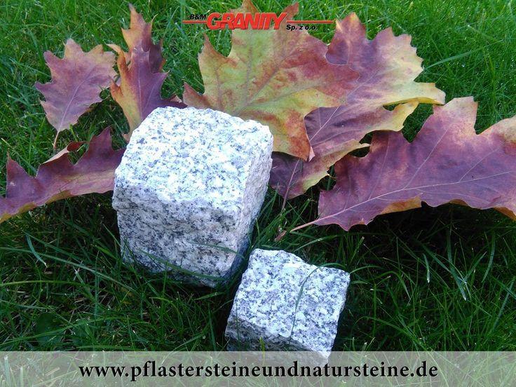 """B&M GRANITY - Winter-Rabatt - frostbeständige Pflastersteine aus Granit (grau, gespalten, Mittelkorn, """"Salz und Pfeffer"""") , Granit-Pflastersteine   http://www.pflastersteineundnatursteine.de/fotogalerie/pflastersteine/"""