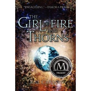 The Girl Of Fire And Thorns by Rae Carson. I loved this book! The young heroin is very relatable and lovely. The fantasy is a bit odd but engrossing at the same time. Nothing like a underdog princess who saves the day!