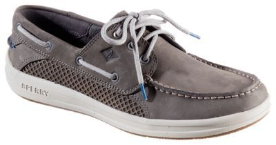Sperry Top-Sider Gamefish 3-Eye Boat Shoes for Men - Grey - 10.5M