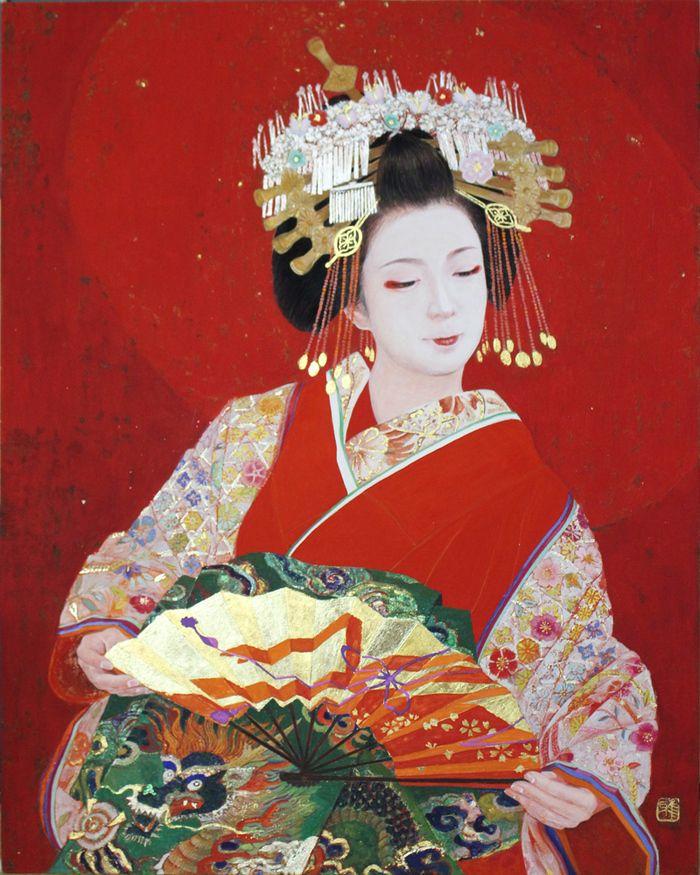 日本画Japanesepainting : 黒川雅子のデッサン  BLOG版
