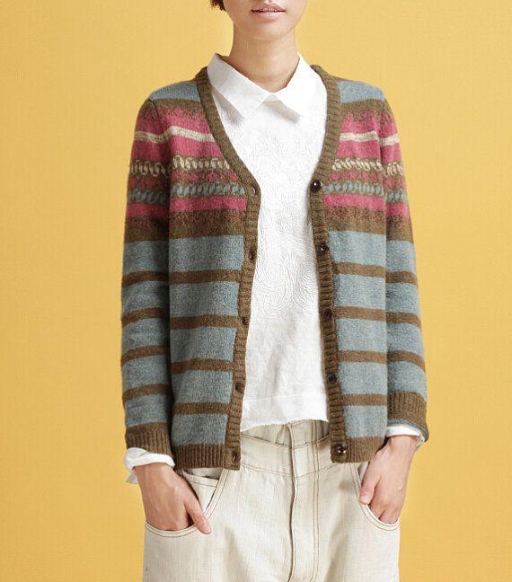 Winter 2014 literary knitting cardigan coat collar by Famousstruck