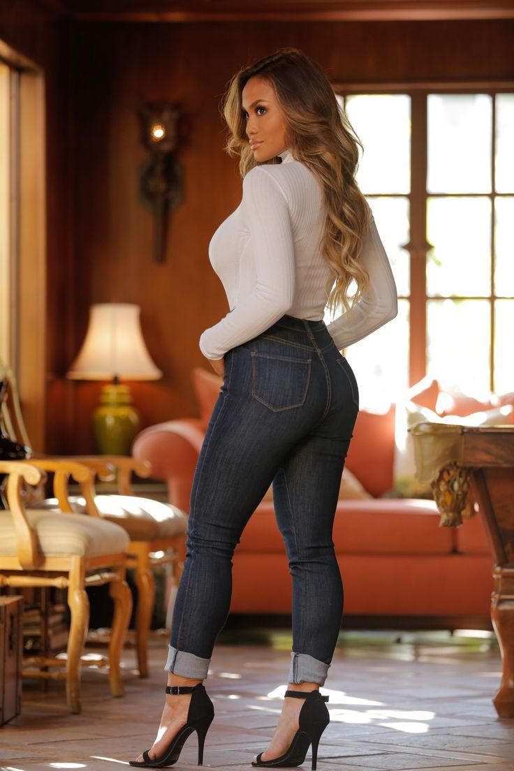 Modern High Rise Skinny Jeans - Dark