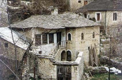 Traditional house - architecture of sirrako-ioannina-epirus