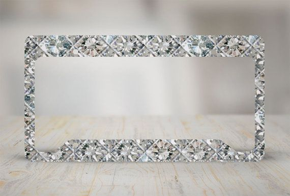 Hey, I found this really awesome Etsy listing at https://www.etsy.com/listing/251482044/diamond-license-plate-frame-diamonds-car