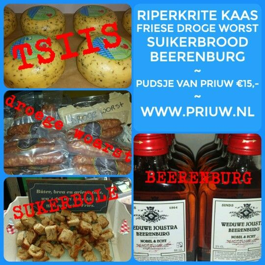 Het lekkerste van Friesland in een kadotas. Het Pudsje van Priuw! Vier Friese #delicatessen voor 15 euro! #local #cheese #localfood #localholland #biologusch #fairtradefood #fairtradeproducts #streekproducten  #gifts  WWW.PRIUW.NL