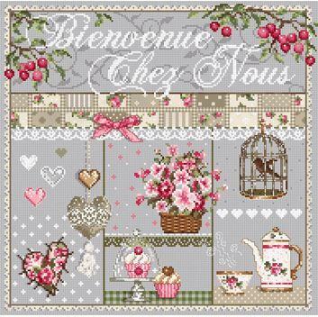 click here to view larger image of Bienvenue Chez Nous (chart)