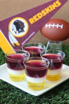 Best Washington Redskins Jell-O Shots Recipe-How to Make Washington Redskins Jell-O Shots-Delish.com