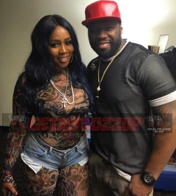 New post on Getmybuzzup- 50 Cent & Remy Ma - This one right here is the real deal, I ain't gone hold you up [Photo]- http://getmybuzzup.com/?p=717113- Please Share