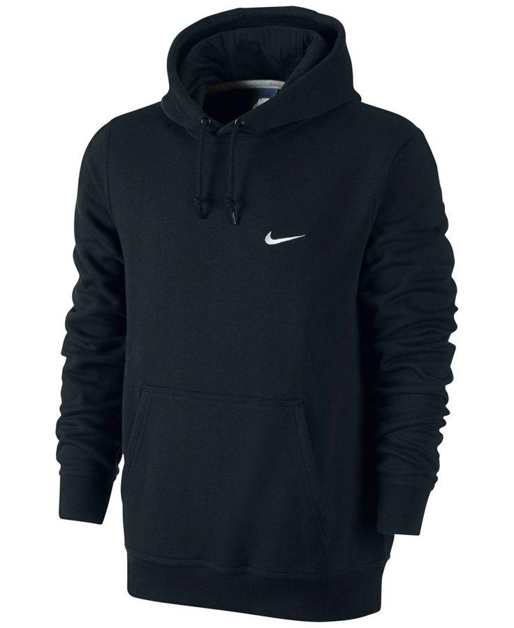 Nike Sweatshirt, Classic Pullover Fleece Hoodie - Mens Shop All Activewear - Macy's - Charcoal Grey - XL