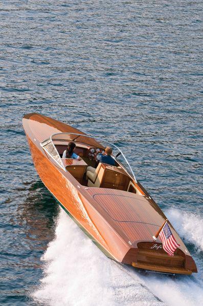 Classic Wooden Boat|Cda Custom34 Lr...LLA|Lisa