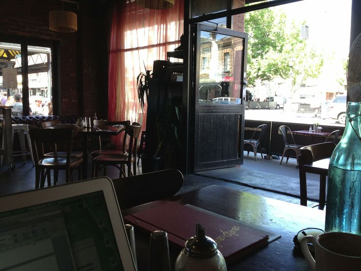 Cafes, always stimulating places to write - coffee, people, sunlight. You almost don't even feel like you're missing out on a social life!
