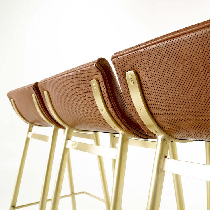 brass furniture. brass and leather gachot i thomas hayes studio httpwwwthomashayesstudio furniture