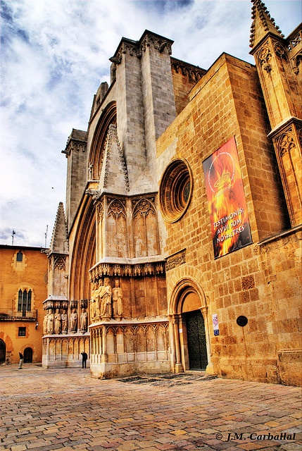 Catedral de Tarragona, Spain  Places nearby Barcelona  Pinterest  Spain, B...