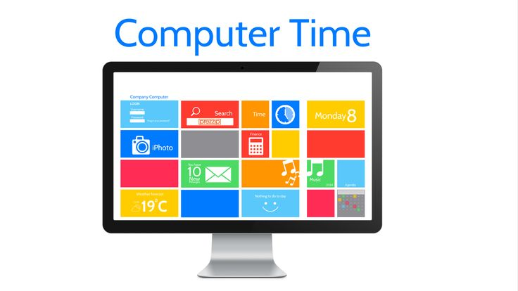 Computer Time Prezi Template Makes Computer Work Fun With All