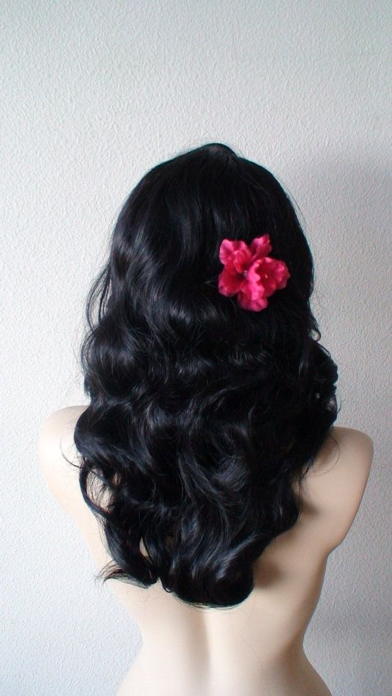 ༻⚜༺ ❤️ ༻⚜༺ Black lace front wig. | Vintage curly hair wig by kekeshop ༻⚜༺ ❤️ ༻⚜༺