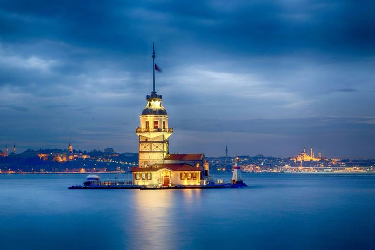 Maidens tower - by Onur Pinar
