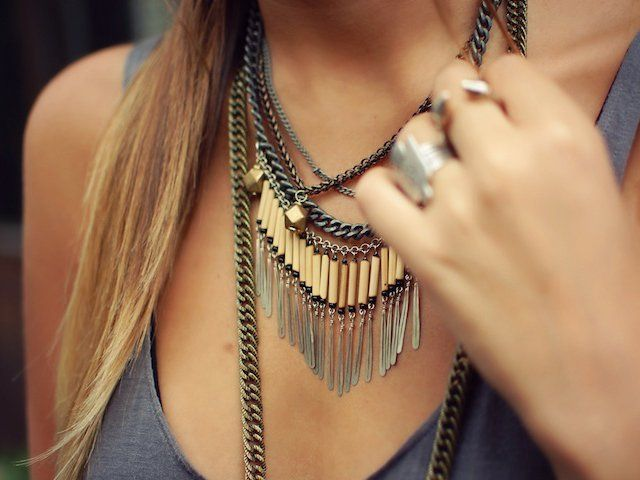Triton Necklace by Vanessa Mooney