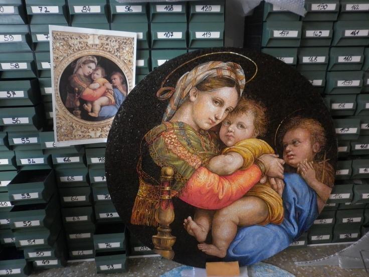 Madonna della Seggiola by Giulio Menossi