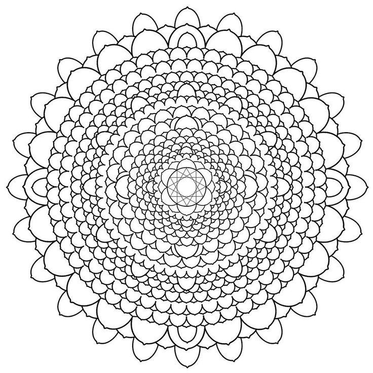 68 best Mandala coloring pages images on Pinterest | Animal ...
