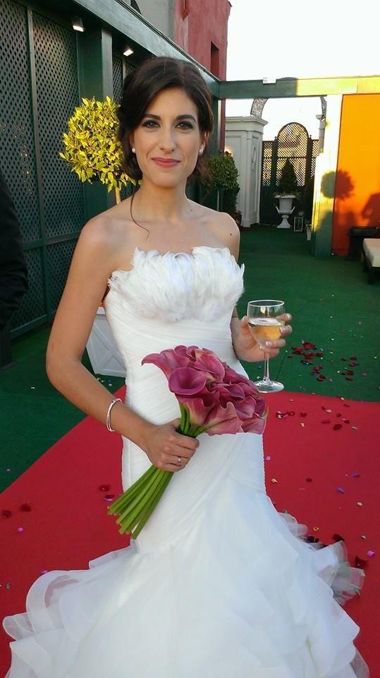 Ramo de calas moradas con tallos largos para Patricia, una novia guapisima!! #ramosdenovia #unico #exclusivo #diseño #flores #calas #arreglosflorales #novias #celebracion #leavesdesign
