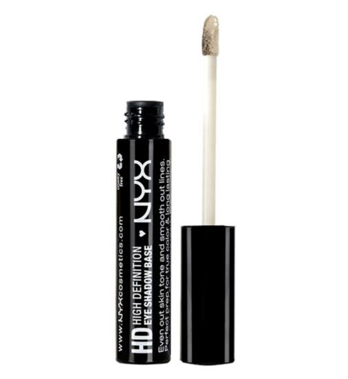 Nyx eye shadow base - high definition - Boots Nyx eye shadow base - high definition 6477186 £5.50 or 550 points 16 G £3.44 per 10G