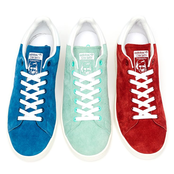 To know more about adidas originals Stan Smith Suede Pack Spring/Summer  visit Sumally, a social network that gathers together all the wanted things  in the ...