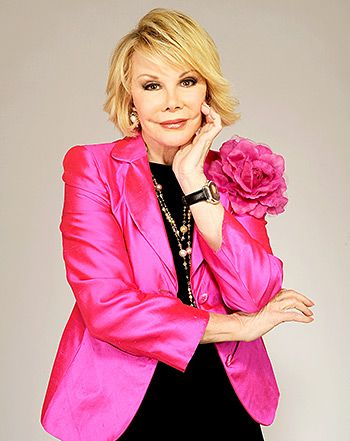 "Joan Rivers: Her ""25 Things You Don't Know About Me"" - Us Weekly"