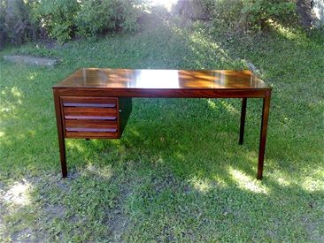 Great Rio Rosewood Writing Desk - Designed by Torbjørn Afdal Norway