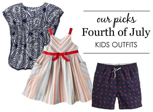 Fourth of July Kids Outfits - #4thofJulyFourth Of July, Dra Tiny, Kids Outfit, July 4Th, Kid Outfits, July Kids