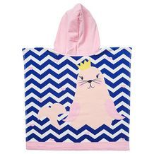 Princess Seal Hooded Towel