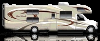 2014 Four Winds Motorhomes: Class C RV by Thor Motor Coach bunks