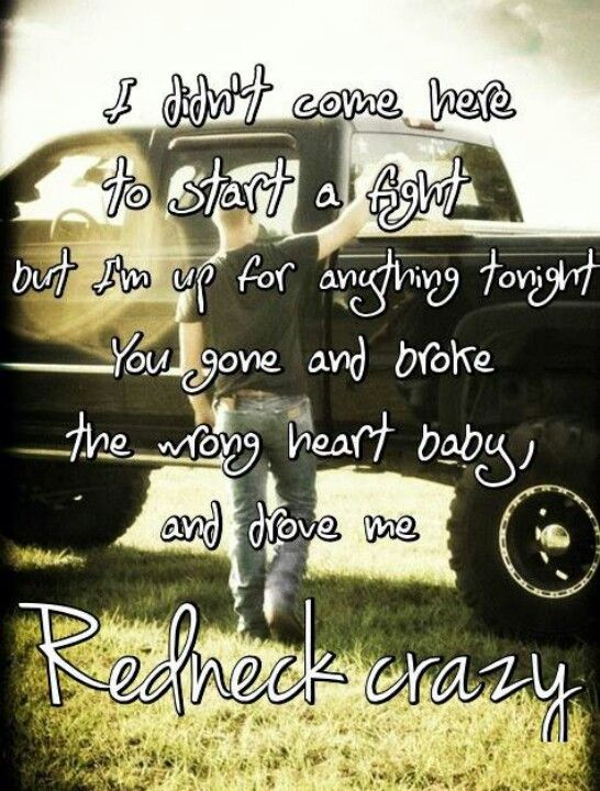Redneck Crazy by Tyler Farr get to see him at the B100 birthday party(: