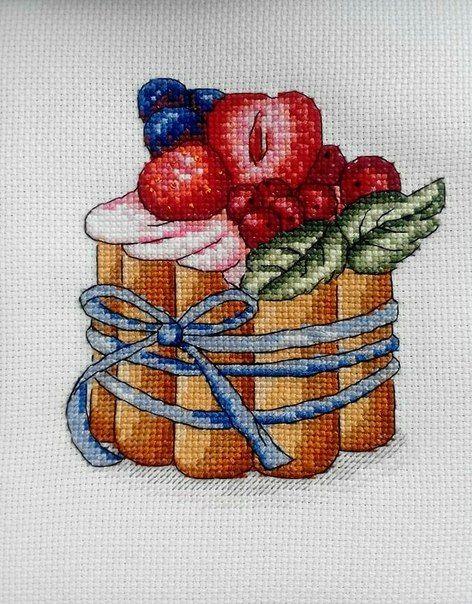 Фотографии Вкусные схемы для вышивки крестом от Александры | 13 альбомов | ВКонтакте