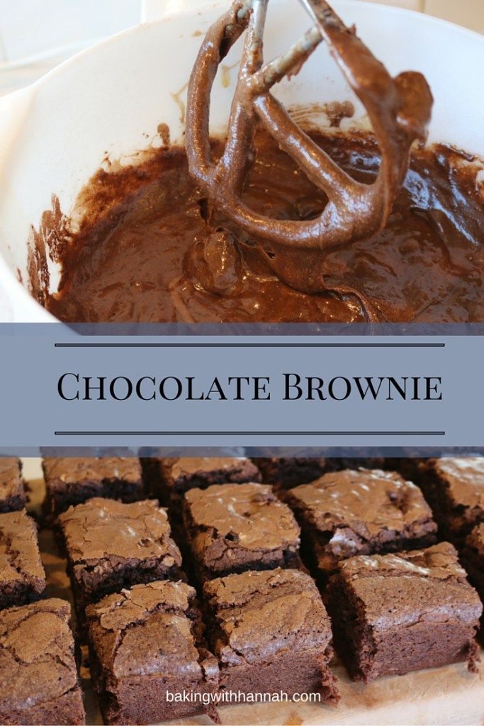 Chocolate Brownie, I have been making this recipe for years and it always a massive hit!