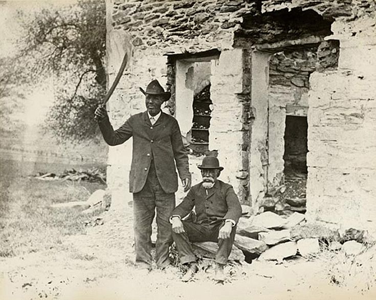 "Two Survivors of the Christiana Resistance (AKA Christiana ""Revolt"", AKA Christiana ""Riot"")"